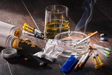 4 najgroźniejsze substancje uzależniające